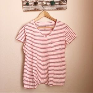 3/$20 Universal Thread Red & White Stripped Tee
